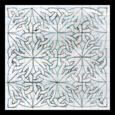 Celtic Knots 101 - Triangles and Pretzels - WetCanvas Celtic Patterns, Doodle Patterns, Zentangle Patterns, Tangle Doodle, Doodles Zentangles, Doodle Art, Celtic Symbols, Celtic Art, Celtic Knots
