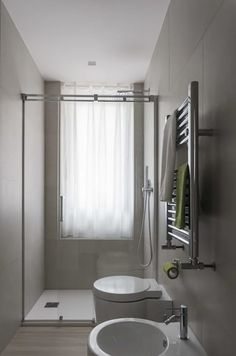 Arredare un bagno lungo e stretto - Bagno stretto e lungo, la ...