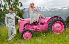 I need a pink tractor.