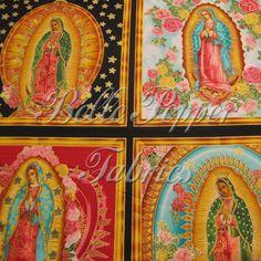 Robert+Kaufman+Virgin+of+Guadalupe+by+Inner+Faith+by+bellepepper,+$10.00