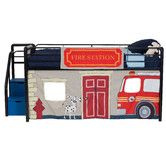 Found it at Wayfair - Fire Department Curtain Set for Junior Loft Bed