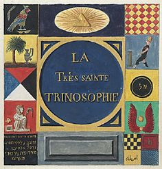 La Très Sainte Trinosophie - The Most Holy Trinosophia - believed to have been written by Count Saint Germain