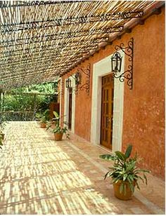 Spanish Colonial Design and Architecture, Antique Doors and Stone, Mexican Courtyards