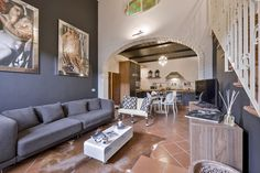 Essence: Ideal for anyone who wants to visit Florence without getting lost in the frantic tourist life that takes over the historical center. #luxury #apartment #accommodation #florence #tuscany #italy #travel