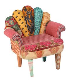 Another great find on #zulily! Red Peacock Chair #zulilyfinds