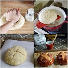 pretzel bread recipe: surprisingly easy!