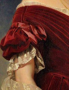 Queen Marie-Louise of Belgium by Franz Xavier Winterhalter