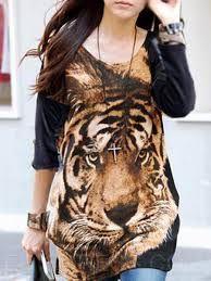 Resultado de imagen para faldas largas con tigre