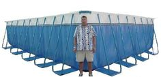 Deep Portable Swimming Pools - Deep Above Ground Pools Deep Above Ground Pools, Rectangle Above Ground Pool, Above Ground Pool Kits, Above Ground Swimming Pools, In Ground Pools, Deepest Swimming Pool, Portable Swimming Pools, Swimming Pools Backyard, Pool Landscaping