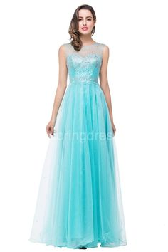 US$104.05-Delicate Beaded Illusion A Line 2016 Prom Dress with Zipper. http://www.newadoringdress.com/delicate-beadings-illusion-a-line-2016-prom-dress-zipper-floor-length-sleeveless-p319030.html