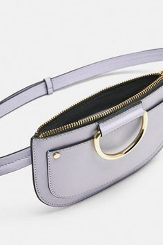 Bags 2018, Bum Bag, Leather Bags Handmade, Medium Bags, Zara, Leather Pouch, Leather Accessories, Small Bags, Beautiful Bags