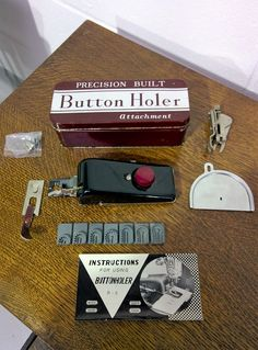Precision Built Button Holer, 1950s/1960s