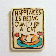 A personal favorite from my Etsy shop https://www.etsy.com/listing/220815037/custom-order-woodburned-pet-magnet