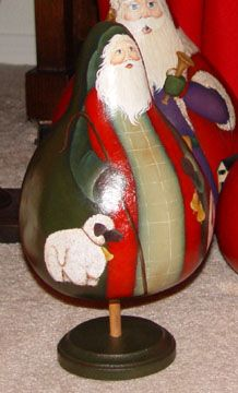 Diy Christmas Crafts To Sell, Christmas Stuff, Christmas Diy, Christmas Decorations, Hand Painted Gourds, Gourd Art, Making Out, Woodworking, Craft Ideas
