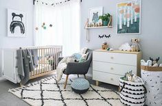 Grey scale nursery