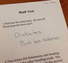 31 Hilarious Test Answers from Smart Ass Kids - Team Jimmy Joe
