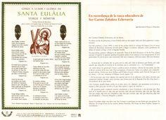 Goigs nº 036 - Eulalia - BCN - 2006