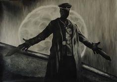 Karl Ruprecht Kroenen by Neatha on DeviantArt Hellboy Kroenen, Dark Fantasy, Fantasy Art, Comic Character, Character Design, Hellboy Movie, Hero Movie, Dope Art, Art Studies