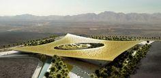 ARABIE SAOUDITE. Concours « Oasis du Noble Coran » : Proposition de l'agence madrilène Rafael de La-Hoz