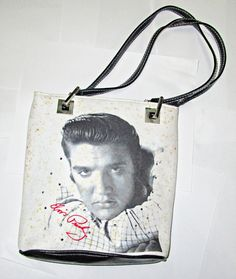 New Ladies  Iconic Elvis Presley  Faux Leather Purse Wallet  Boxed Great  Gift