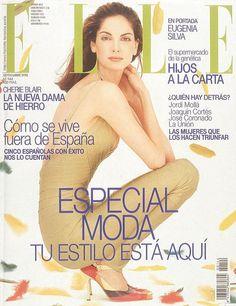 Elle Spain September 1998 - Eugenia Silva