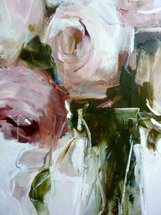 Colour and mood inspiration The artwork of Nicole Pletts by kuwaii Art Floral, Abstract Flowers, Painting Flowers, Acrylic Flowers, Floral Paintings, Oil Paintings, Love Art, Painting Inspiration, Amazing Art