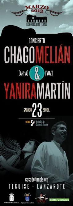 Concierto en Teguise de ' Chago Melián  y   Yanira Martín' - http://gd.is/JtZckd