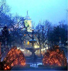 City Hall Park, New York City. January 6, 2014.