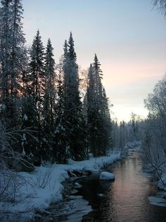 #finland during the winter