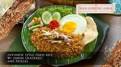 Java Kitchen, 228 Tanjong Katong... Restaurant Vouchers, Nasi Goreng, Javanese, Fried Rice, Crackers, Cobb Salad, Pickles, Onion, Fries