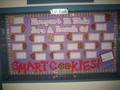 """Smart Cookies"" testing bulletin board"