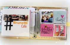 Heidi Swapp project life cards- mini album! @Kim Jeffress for @Heidi Swapp #heidiswapp #hsprojectlife #projectlife