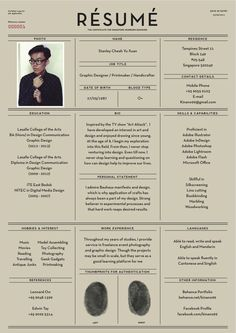 27 Beautiful Résumé Designs You'll Want To Steal: