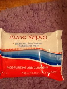 Again small and thin wipes but work and smell refreshing