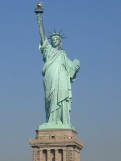 ▁▂▃ On this day (Oct., 28), in1886 – In New York Harbor, U.S. President Grover Cleveland dedicated the Statue of Liberty, a gift from France, to commemorate the centennial of the Declaration of American Independence.