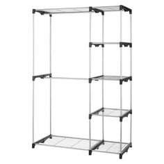 Double Rod Stand Alone Closet System - Threshold™