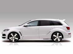 Audi Q7. if i had to drive van this would be the one