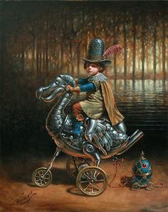 Dodocycle - Michael Cheval