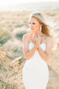 Classic laced fitted wedding dress, Las Vegas and Red Rocks Wedding Photographer, Nevada Wedding, Desert Wedding Inspiration // Fine Art wedding photography by YourDreamPhoto