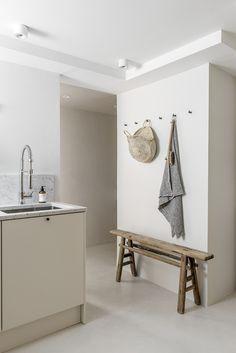 Spa & sauna design for a private client Photography by Pauliina Salonen. Beautiful Interior Design, Beautiful Interiors, Spa Design, House Design, Timber Benchtop, Stylish Kitchen, Interior Stylist, Design Agency, Kitchen Decor
