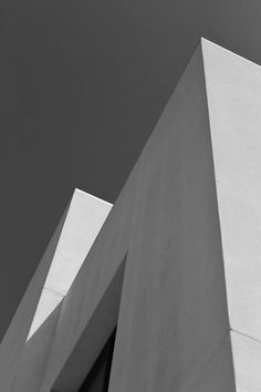 Robert Carande / architecture / lines / black and white / photo