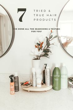 There are so many hair products out there, how do you even know how to choose? I have tried a ton of them and am sharing the best of the best! #hairproducts #hair #hairstyle