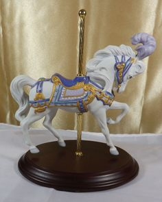 Carousel Majesty, Carousel Horse by Lynn Lupetti for The Franklin Mint