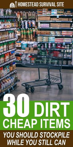 We took a tour of our local dollar store with a survival perspective in mind and found many dirt-cheap items that would not only serve more than one purpose in an emergency but would be valuable for bartering. survival tips Emergency Preparedness Food, Emergency Preparation, Survival Prepping, Survival Skills, Doomsday Prepping, Food For Emergencies, Prepper Food, Emergency Food Supply, Survival Items