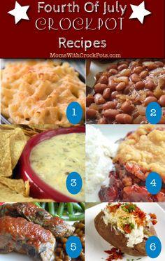 Fourth of July Crockpot Recipes