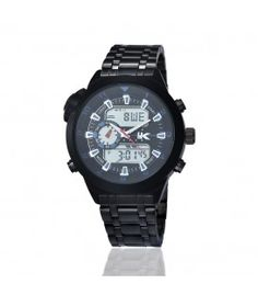 Yaki Mens Analog Quartz Digital Wrist Watch 1040