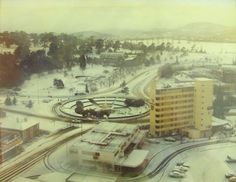 'That' snowy day back in the mid Snowy Day, Tasmania, Historical Photos, Old Photos, Places To Go, Australia, In This Moment, Island, City