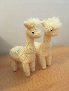 This alpaca is made mostly of one piece.
