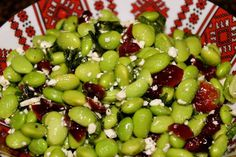 Edamame Cranberry Salad...absolutely delicious!