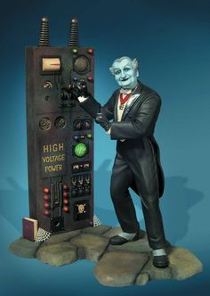 Munsters Grandpa Munster Model Kit - One of the most loved television series of the returns with two new models kits starring The Munsters! Munsters Grandpa, The Munsters, Lily Munster, Herman Munster, Plastic Model Kits, Plastic Models, Vintage Models, Vintage Toys, Gi Joe